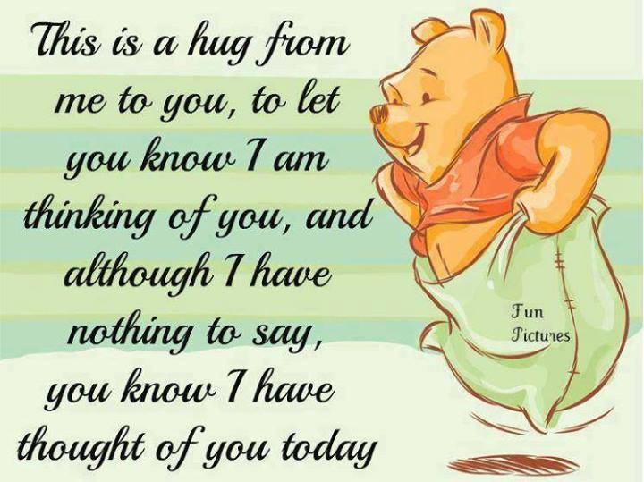 Friendship Day: A Hug From Me To You