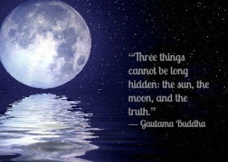 Three things cannot be hidden