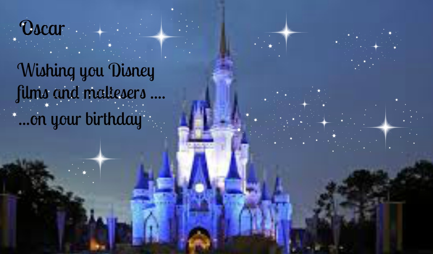 Birthday wishes i wish you disney films and maltesers support for disney films and maltesers kristyandbryce Choice Image
