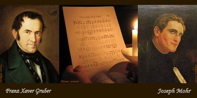 STILLE NACHT, HEILIGE NACHT (Silent Night, Holy Night) was composed in ...