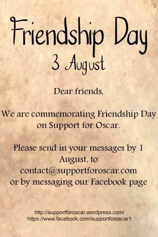 Friendship Day 1