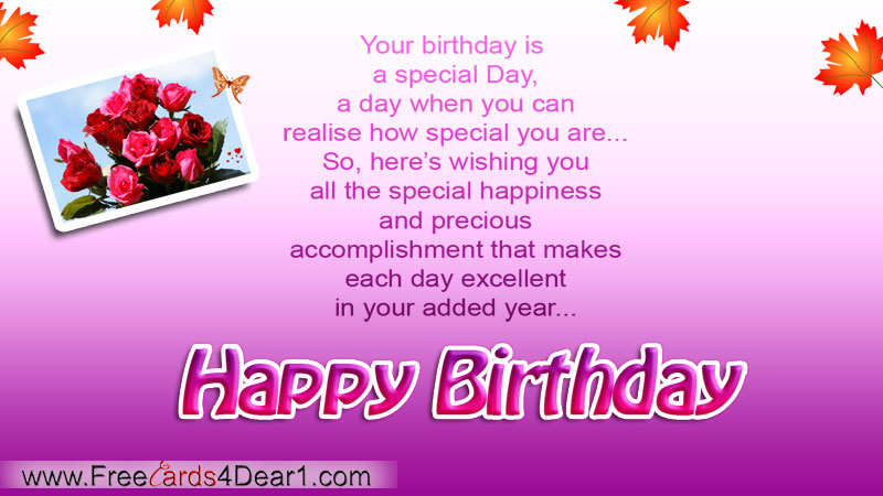 Birthday wishes caroline support for oscar pistorius special birthday greeting card bookmarktalkfo Gallery