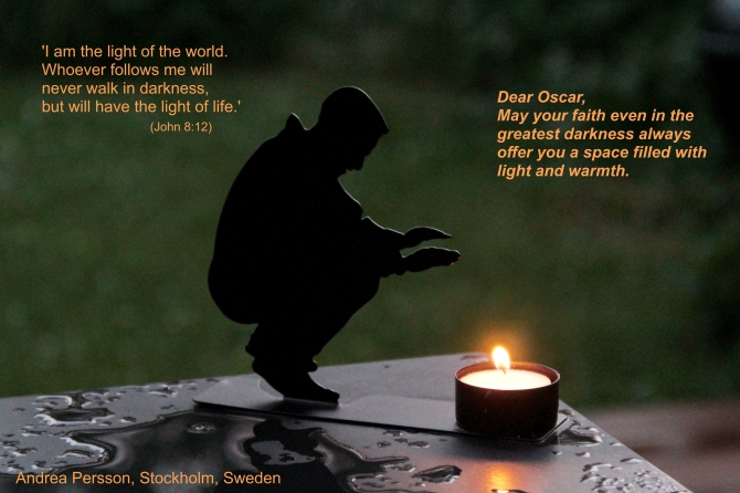 A candle for Oscar July 16